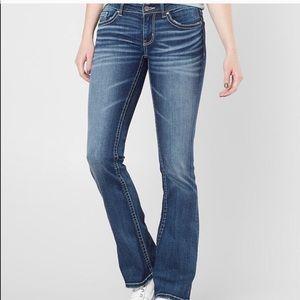 {BKE} Light Wash Stella Slim Boot Jean Sz 24